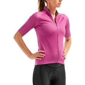 2XU Elite Cycle Maillot de cyclisme Femme, fuchsia purple